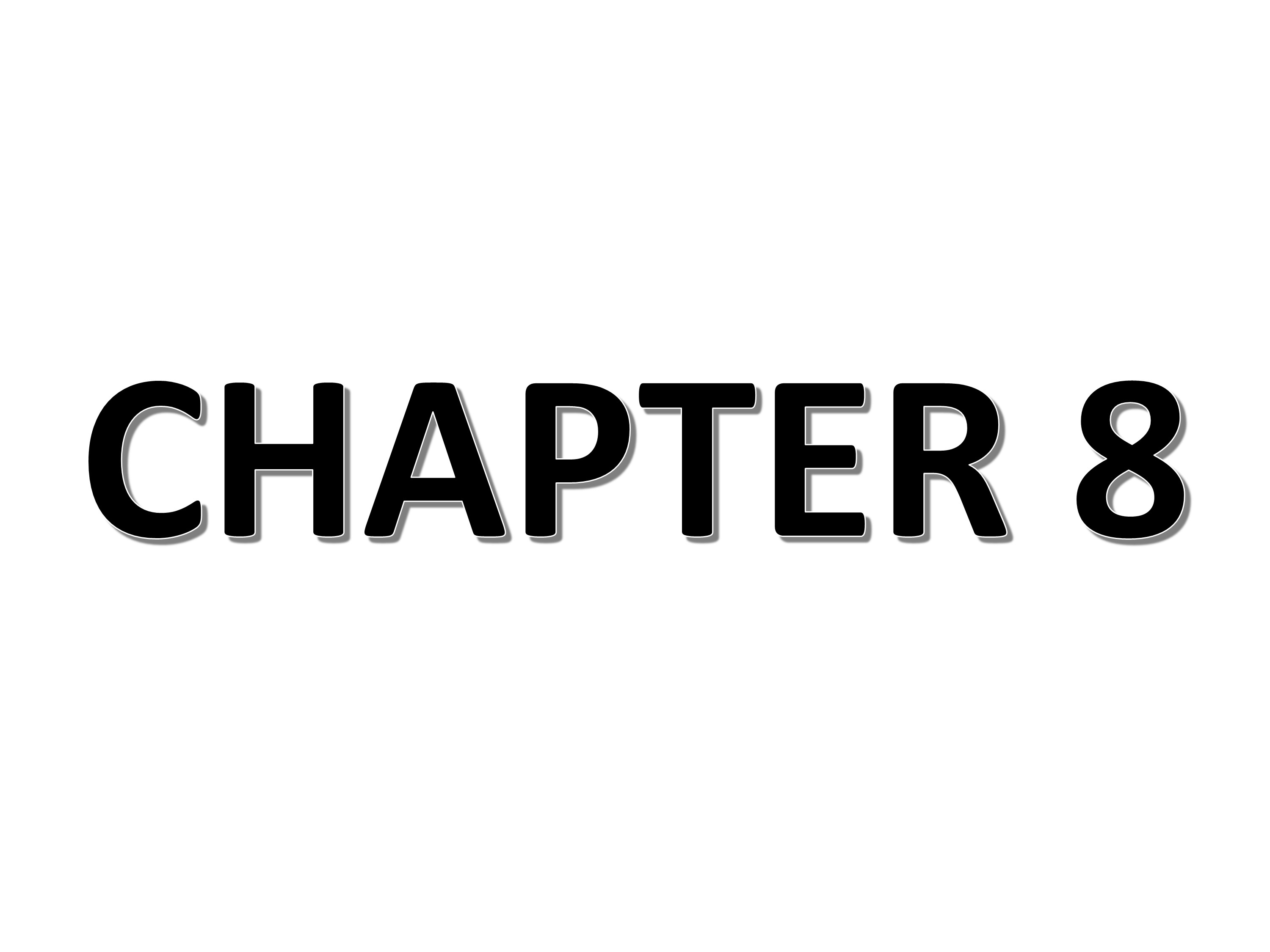 CHAPTER 8 SUMMARY AND OUTLOOK